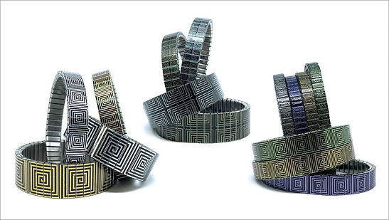 Squares Cool bracelets by Urband London
