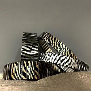 Zebra bracelets at Urband London