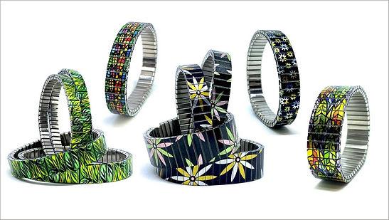 Flowers Daisies bracelets by Urband London