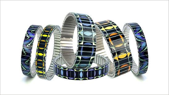 Circles Shapes bracelets by Urband London