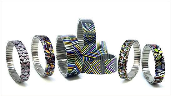 Checkers Kites bracelets by Urband London