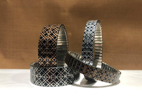 Squares Tiles Bracelets Collection by Urband London