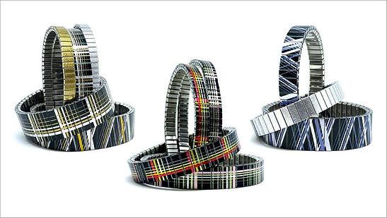 Pride bracelets by Urband London