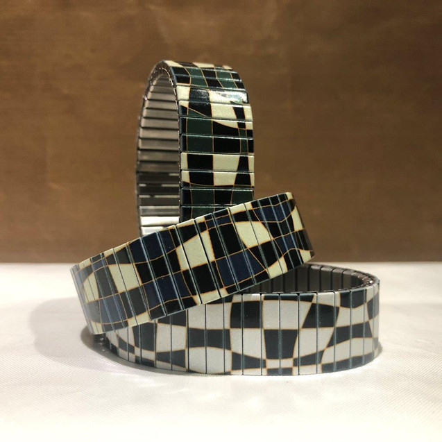 Checkers Maze bracelets by Urband London