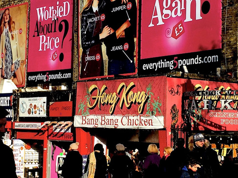 Urband London Inspirations in Camden Town market - Photography by Raoul Sagal