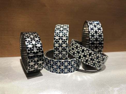 Stars Flowers bracelets by Urband Londonby Urband London