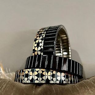 Stars Flowers and Solo Black Bracelets at Urband London