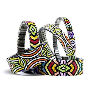 Circles Mandala bracelets by Urband London