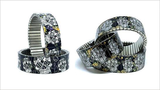 Sugar Skulls bracelets by Urband London