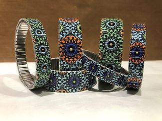 Carnival bracelets by Urband London