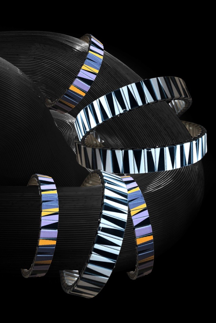 Skinnies bracelets from the Lines Art collection by Urband London