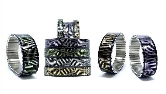 ZigZag bracelets by Urband London