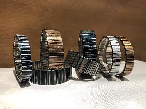 Stripes bracelets by Urband London