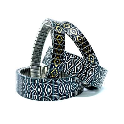 Soho + Circles Mandala bracelets
