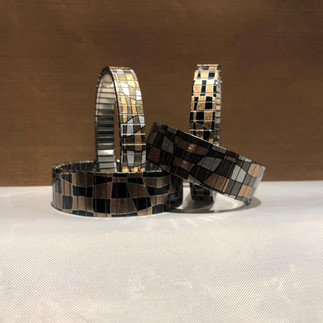Checkers Maze Bracelets Collection by Urband London