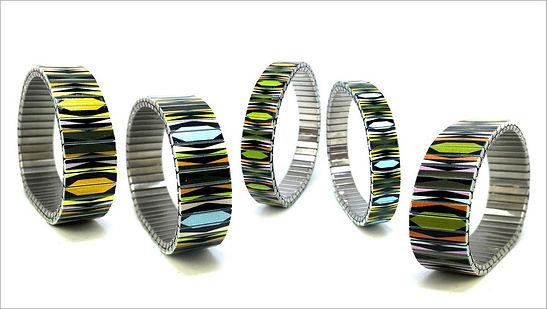 Polygon Mandala bracelets by Urband London