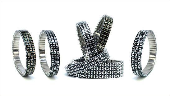 Polygon Wild bracelets by Urband London