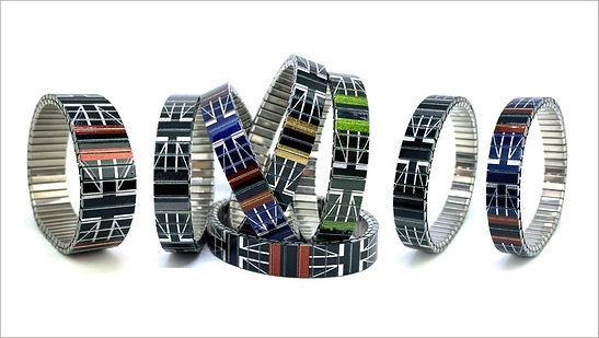 Flags British bracelets by Urband London