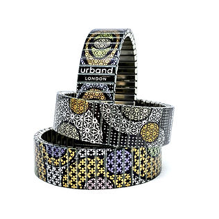 Limited Editions Stars Flowers bracelets by Urband London