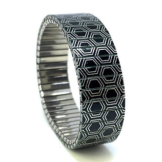 Polygon Tiles 7S18 Metallic