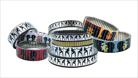 Raoul Painting bracelets by Urband London