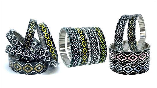 Soho bracelets by Urband London