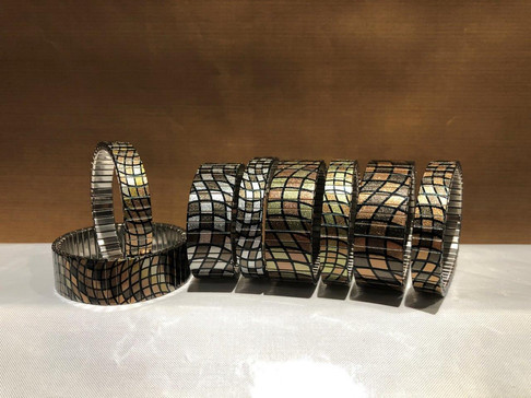 Waves Mosaic Bracelets Collection by Urband London