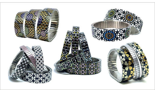 Stars Flowers bracelets by Urband London