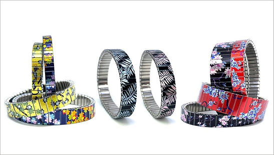 Cool Blossom bracelets by Urband London