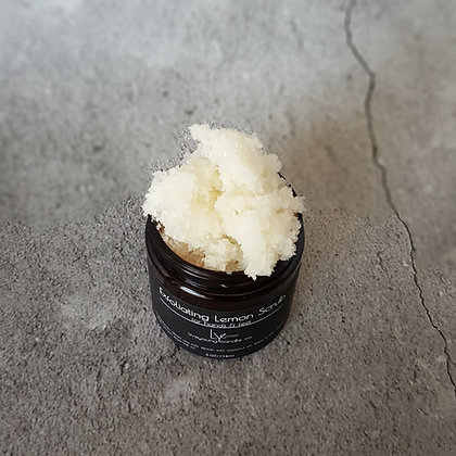 Live Young Candle - Exfoliating Lemon Hand & Foot Scrub