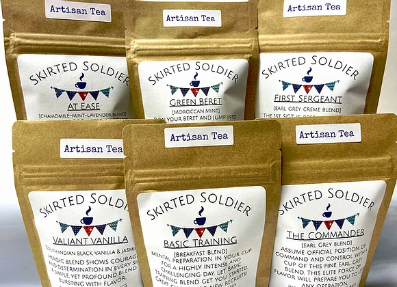 Skirted Soldier Loose Tea - SNAFU