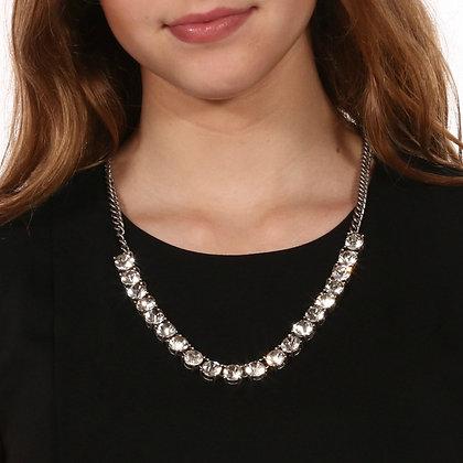 Single Row Crystal Necklace