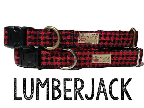 Lumberjack Pet Collar
