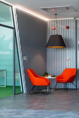 i-screen acoustic lamp