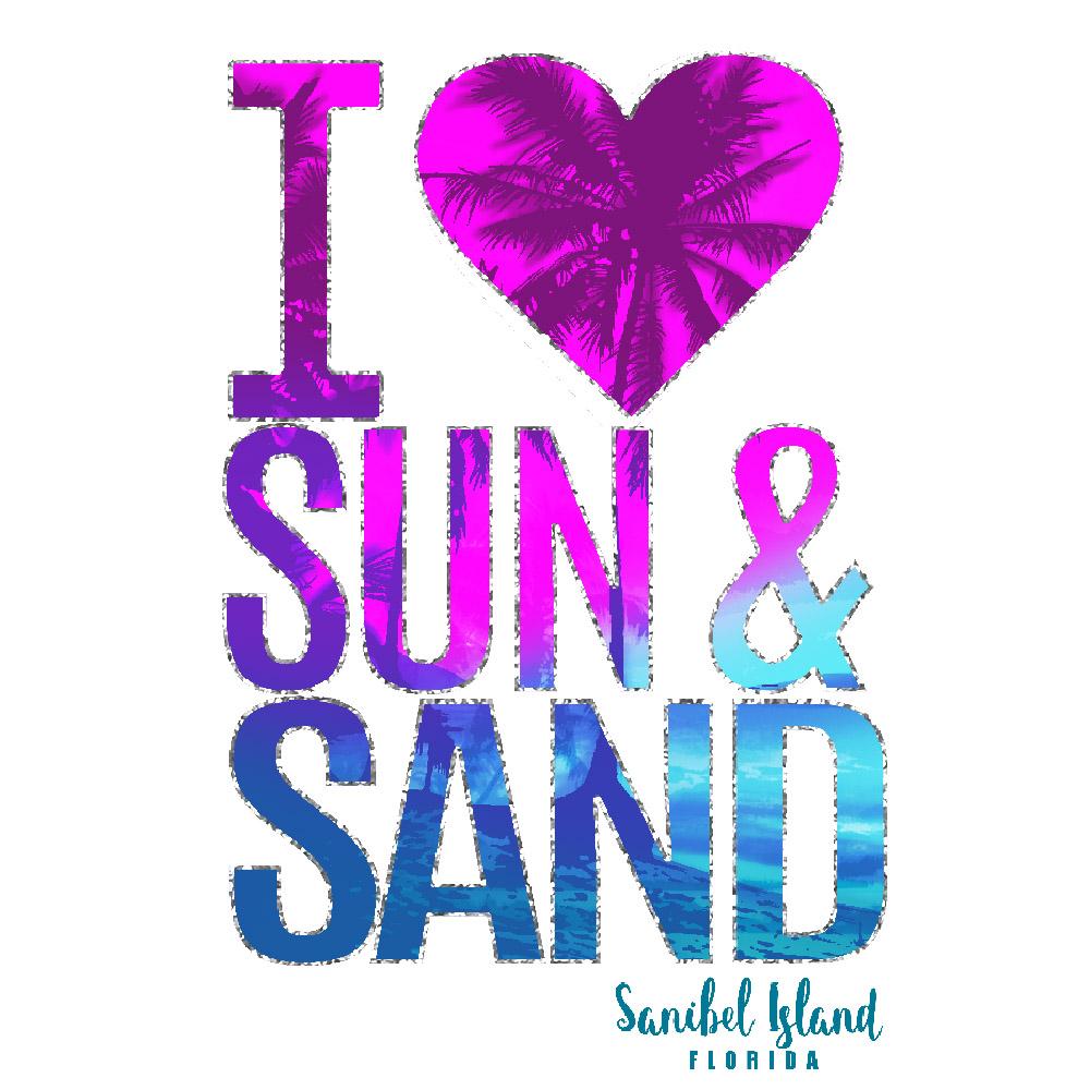 I LOVE SUN AND SAND