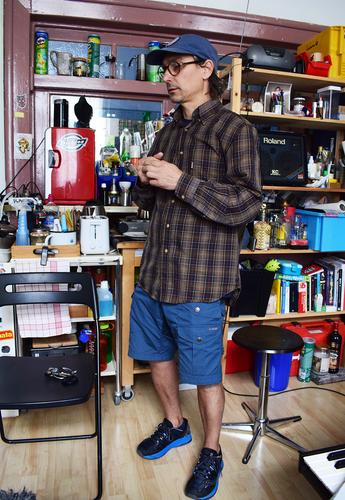 Andres Bucci in seinem Studio