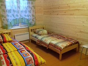Спаьня дома базы Ситинский Берег