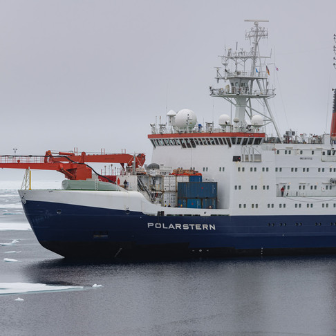 Welcome back Polarstern