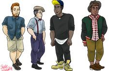 Hip guys
