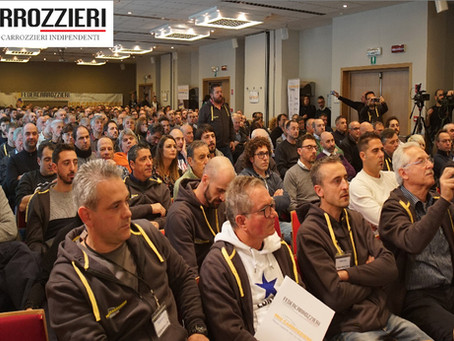Convegno nazionale Federcarrozzieri del 1° dicembre. Il Vice Ministro Galli e molti parlamentari att