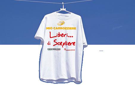 """Siete """"Liberi di… Scegliere""""? Allora ditelo con la T-shirt sfiziosa della Carta di Bologna"""