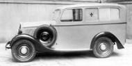 Fiat 508 B Ambulance Garavini, 1935. Fonte: www.fiatfuoriserie.it