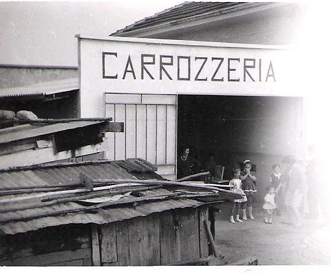 Gli inizi della Carrozzeria Marangon