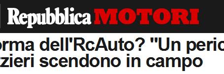 """Repubblica.it : Davide Galli, presidente della Federcarrozzieri spiega perché la cosiddetta """"r"""
