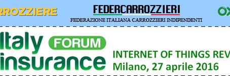 Federcarrozzieri, MioCarrozziere.it e Oxygen: il triplete dei carrozzieri esposto a Italy Insurance
