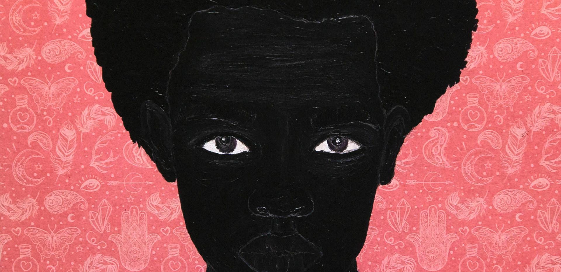 Idris Habib, Monah, 2020, Print on paper, 16 x 16 in