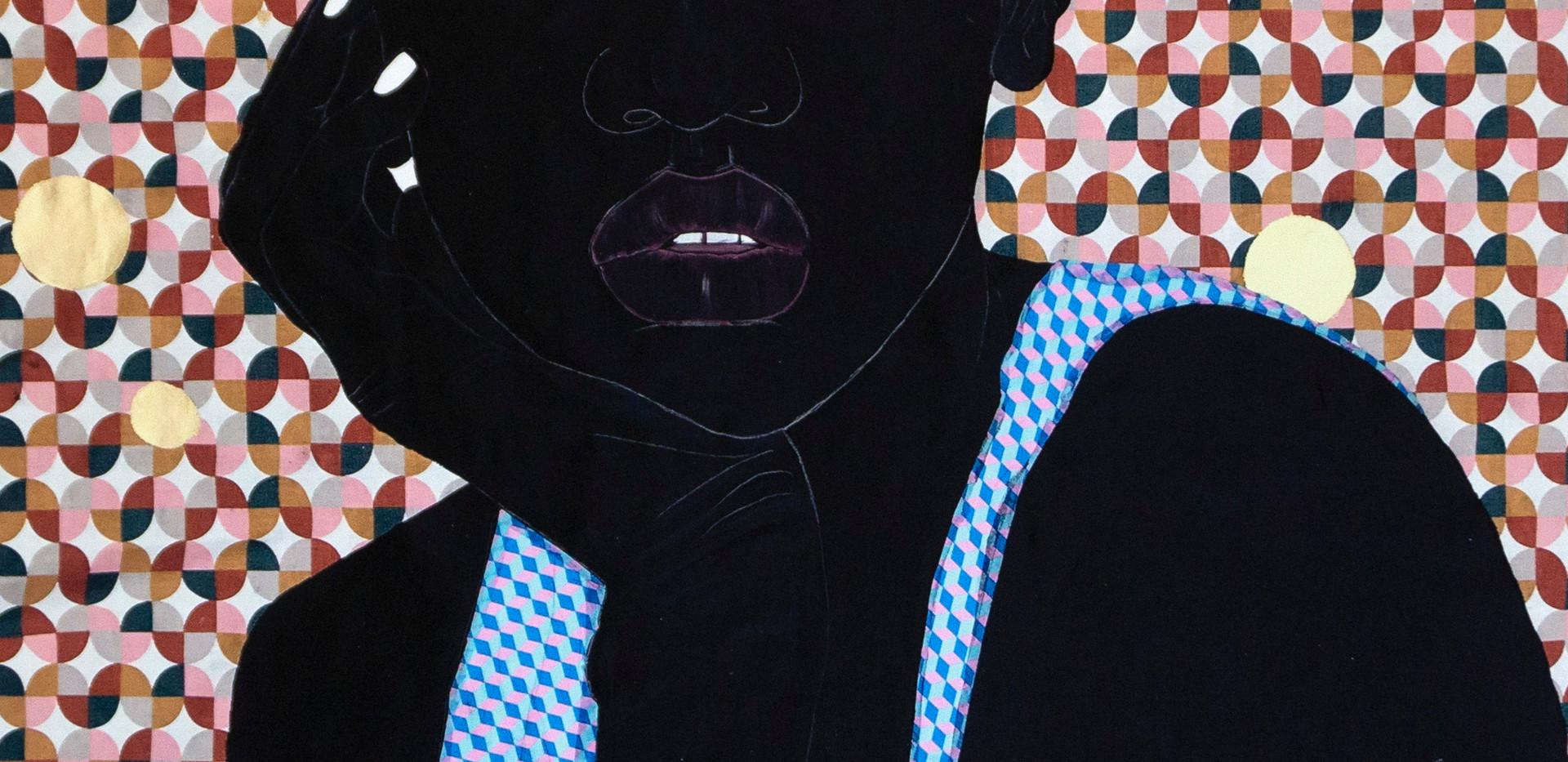 Idris Habib, Nailah, 2020, 24 x 18 in, Print on paper