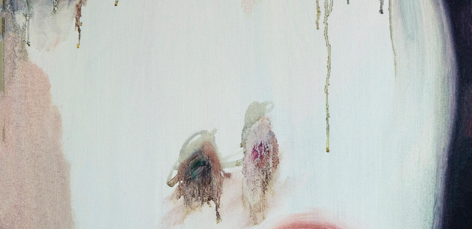 Maria Petrovskaya, Crying Girl, 2019, oil on canvas, 20 x 16
