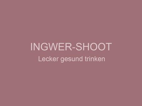 Zitronen-Ingwer-Shoot