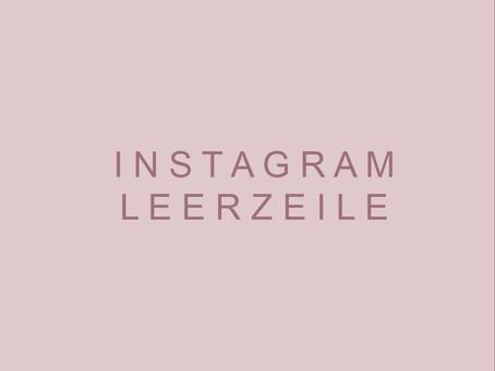 Instagram Leerzeilen